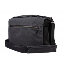 Torba fotograficzna TENBA Cooper 15 Camera Bag - Grey Canvas - Black Leather