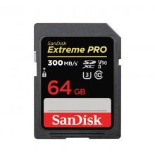 KARTA SANDISK EXTREME PRO SDXC 64GB - 300MB/s V90 UHS-II