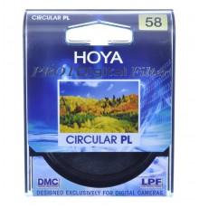 HOYA FILTR POLARYZACYJNY PL-CIR PRO1D 58 mm