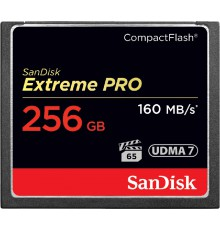 Karta pamięci SanDisk CompactFlash EXTREME PRO CF 256 GB