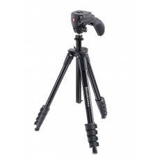 Statyw MANFROTTO COMPACT ACTION 5 SEKC. Z GŁOWICĄ HYBRYD