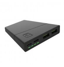 Power Bank Green Cell PowerPlay10 10000mAh USB-C 18W PD i 2x USB-A GC Ultra Charge