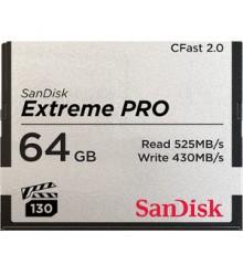 KARTA EXTREME PRO CFAST 2.0 64 GB 525MB/s VPG130