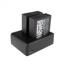 Ładowarka + 2 akumulatory do SJCAM SJ4000 SJ5000