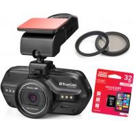 TrueCam A5 Pro WiFi + karta pamięci GOODRAM 32GB + filtr CPL + filtr UV