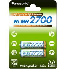 Akumulator PANASONIC R6/AA Ni-MH 2700 mAh - 2 szt blister