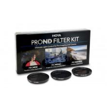Zestaw filtrów HOYA PROND KIT (8/64/1000) 62 mm