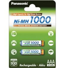 Akumulator PANASONIC R03/AAA Ni-MH 1000 mAh - 2 szt blister