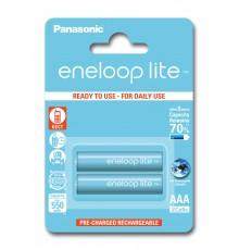 Akumulator PANASONIC ENELOOP LITE R03/AAA 550mAh – 2 szt blister