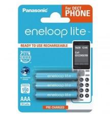 Akumulator PANASONIC ENELOOP LITE R03/AAA 550mAh – 3 szt blister