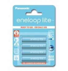 Akumulator PANASONIC ENELOOP LITE R03/AAA 550mAh – 4 szt blister