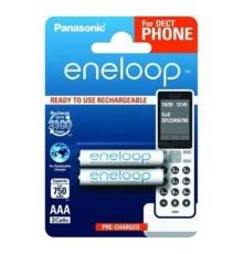 Akumulator PANASONIC ENELOOP R03/AAA 750mAh - 2 szt blister