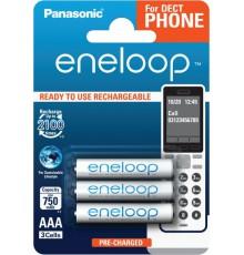 Akumulator PANASONIC ENELOOP R03/AAA 750mAh – 3 szt blister