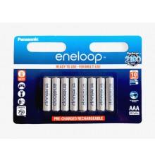 Akumulator PANASONIC ENELOOP R03/AAA 750 mAh - 8 szt blister
