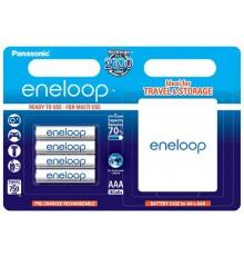 Akumulator PANASONIC ENELOOP R03/AAA 750mAh – 4 szt blister + box