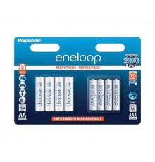 Akumulator PANASONIC ENELOOP ZESTAW 4x R6/AA 1900mAh + 4x R03/AAA 750mAh