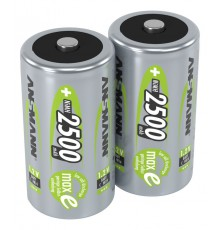 Ansmann Zestaw akumulatorów NiMH Rechargeable battery C / HR14 2500 mAh max 2 pcs.