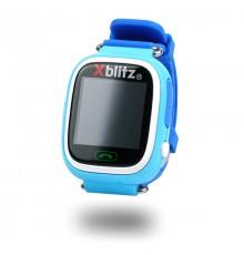 Xblitz LOVE ME SmartWatch GPS z aktywną ochroną rodzicielską (niebieski)