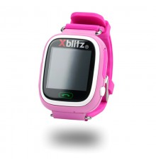Xblitz LOVE ME SmartWatch GPS z aktywną ochroną rodzicielską (różowy)