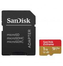 Karta pamięci SanDisk EXTREME microSDXC 1 TB 160/90 MB/s A2 C10 V30 UHS-I U3 Mobile