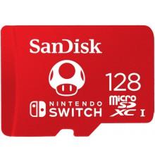 SANDISK NINTENDO SWITCH microSDXC 128 GB 100/90 MB/s A1 C10 V30 UHS-I U3