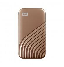 DYSK PRZENOŚNY WD My Passport SSD 1TB Gold (1050/1000 MB/s)