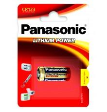 PANASONIC BATERIA LITOWA CR123A - 1szt blister