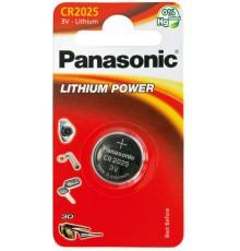 PANASONIC BATERIA LITOWA CR2025 - 1szt blister