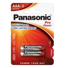 PANASONIC BATERIA ALKALICZNA LR03/AAA PRO POWER - 2 szt blister