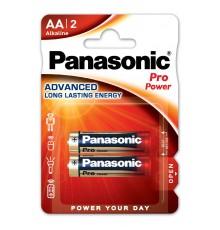 PANASONIC BATERIA ALKALICZNA LR6/AA PRO POWER - 2 szt blister