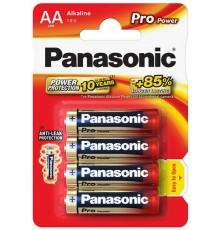 PANASONIC BATERIA ALKALICZNA LR6/AA PRO POWER - 4 szt blister