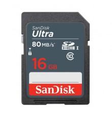 KARTA SANDISK ULTRA SDHC 16GB 80MB/s