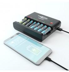 Ładowarka ANSMANN do akumulatorów Powerline 8 z USB