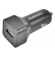 Duracell ładowarka samochodowa 5V 1 x USB-A 2.4A czarny