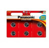 PANASONIC BATERIA LITOWA CR2032 - 6szt blister