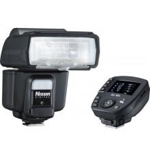 Zestaw lampa błyskowa Nissin i60A + Air10s Nikon