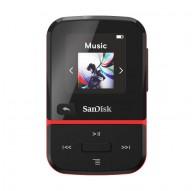 ODTWARZACZ SANDISK MP3 32GB CLIP SPORT GO – Czerwony