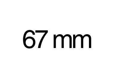 67 mm