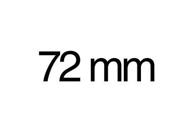72 mm