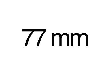 77 mm