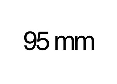 95 mm