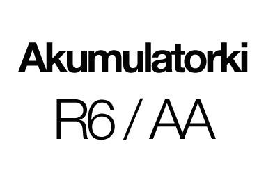 Akumulatorki R6 / AA