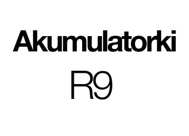 Akumulatorki R9
