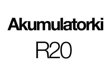 Akumulatorki R20