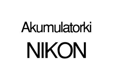 Akumulatorki NIKON