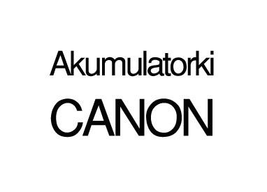 Akumulatorki CANON