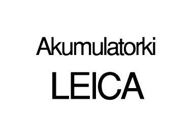 Akumulatorki LEICA
