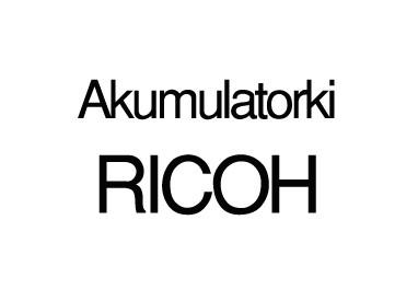 Akumulatorki RICOH