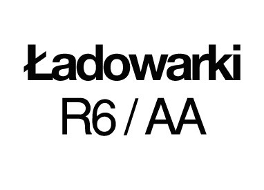 Ładowarki R6/AA