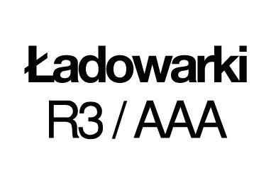 Ładowarki R3/AAA